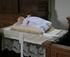 "Kerkopenstelling en tentoonstelling ""Ik doop u"""