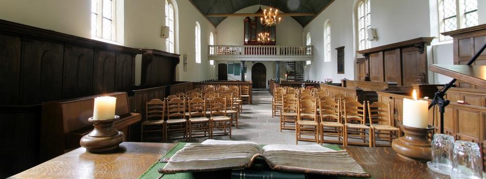 Kerkdiensten in de komende periode