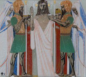 Statie 10 - Jezus wordt van zijn kleding ontdaan