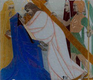 Statie 4 - Jezus ontmoet zijn moeder