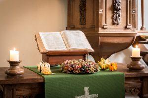Geen kerkdienst, wel meditatie