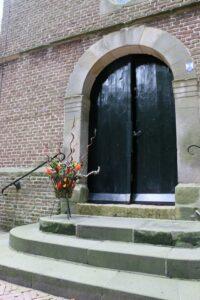 Kerkdienst, Ds. J. van der Wal Velp