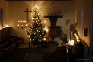 Kerstnachtdienst, Ds A.F.U. Braakman, om 21:00 uur. wordt gestreamd!